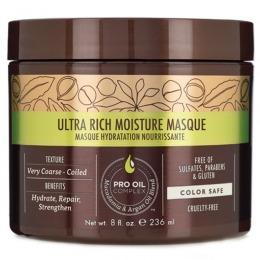 Masca Hidratanta pentru Bucle - Macadamia Professional Ultra Rich Moisture Masque 236 ml
