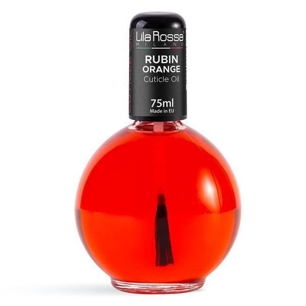 Ulei pentru Cuticule cu Pensula Lila Rossa Rubin Orange, 75 ml imagine produs