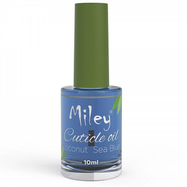 Ulei pentru Cuticule Miley Coconut Sea Blue, 10 ml imagine produs