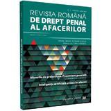 Revista romana de drept penal al afacerilor Nr.1 Ianuarie - Iunie 2020, editura Universul Juridic