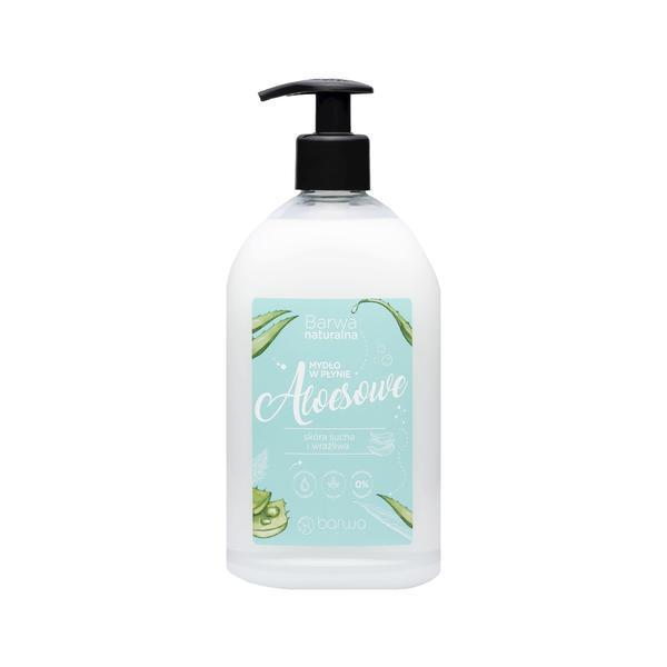 Sapun lichid cu aloe vera si glicerina, Barwa Cosmetics, imagine produs