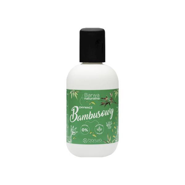 Dizolvant pentru unghii fara acetona cu bambus, Barwa Cosmetics, 100 ml imagine produs