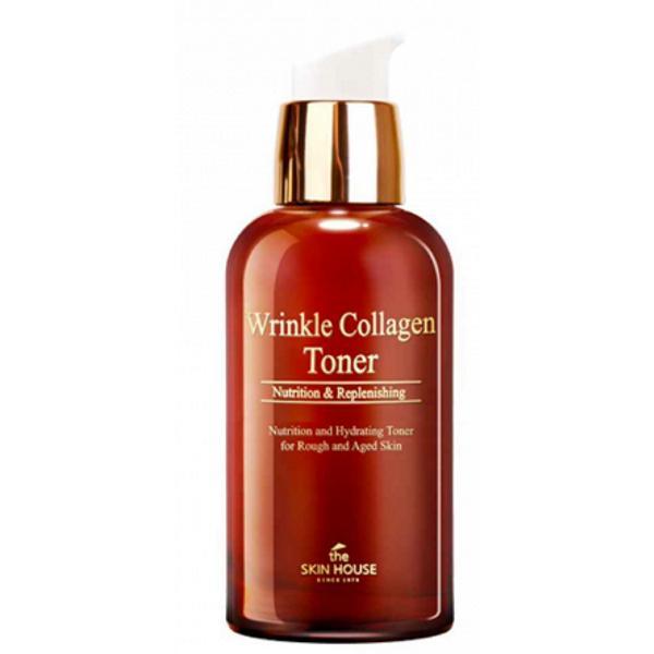 Toner Antirid cu Colagen The Skin House Wrinkle Collagen, 130 ml