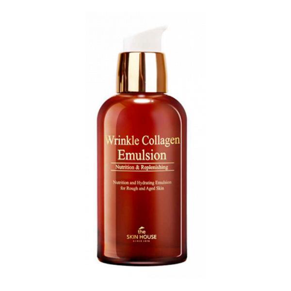 Emulsie Antirid cu Colagen The Skin House Wrinkle Collagen, 130 ml
