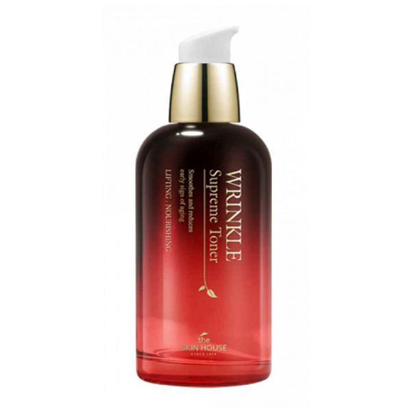 Toner Antirid cu Ginseng The Skin House Wrinkle Supreme, 130 ml