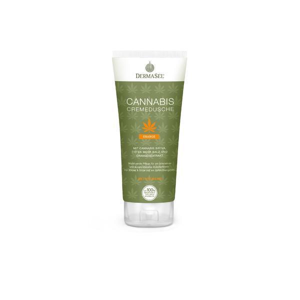 Crema de dus cu cannabis, portocale si minerale Dermasel 200 ml imagine produs