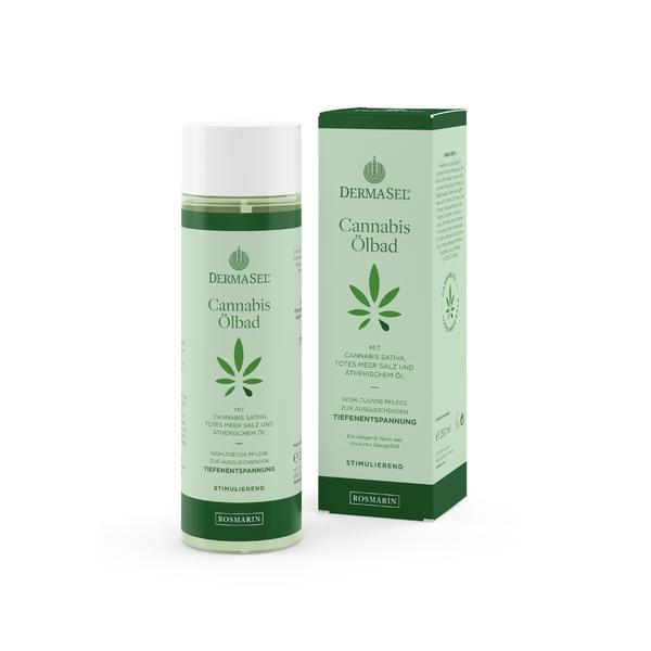 Ulei de baie cu ulei de cannabis, rozmarin si minerale Dermasel 250 ml imagine produs