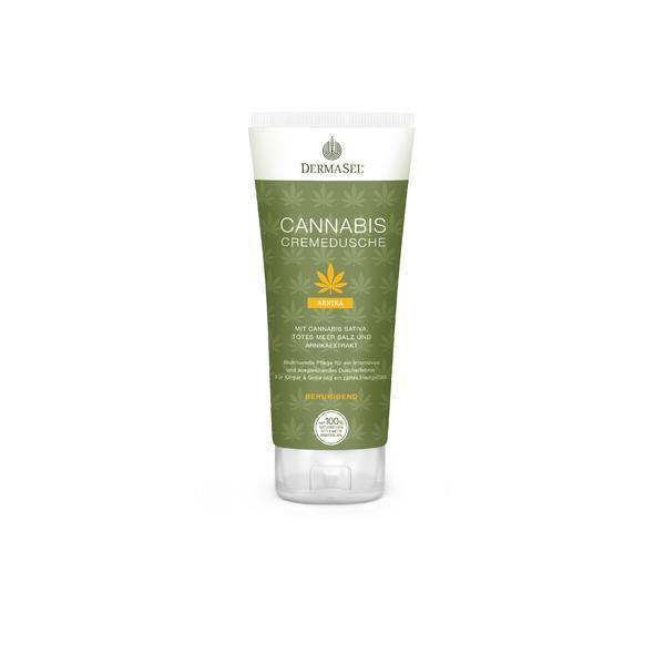Crema de dus cu cannabis, arnica si minerale Dermasel 200 ml imagine produs
