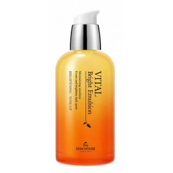 Emulsie pentru Uniformizare Culoare si Luminozitate The Skin House Vital Bright, 130 ml