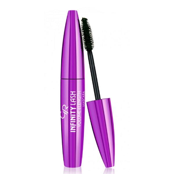 Mascara Infinity Lash Volume & Lenght Golden Rose, 11 ml poza