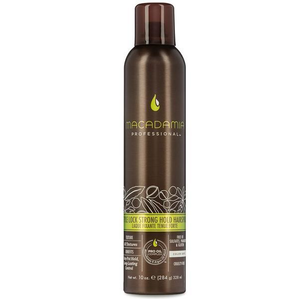 Fixativ cu Fixare Strong - Macadamia Professional Style Lock Strong Hold Hairspray 328 ml imagine produs