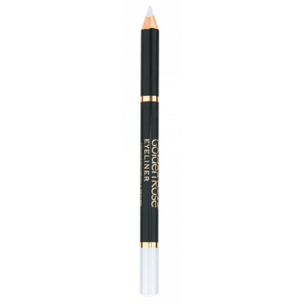Creion de Ochi Wooden Golden Rose, alb imagine