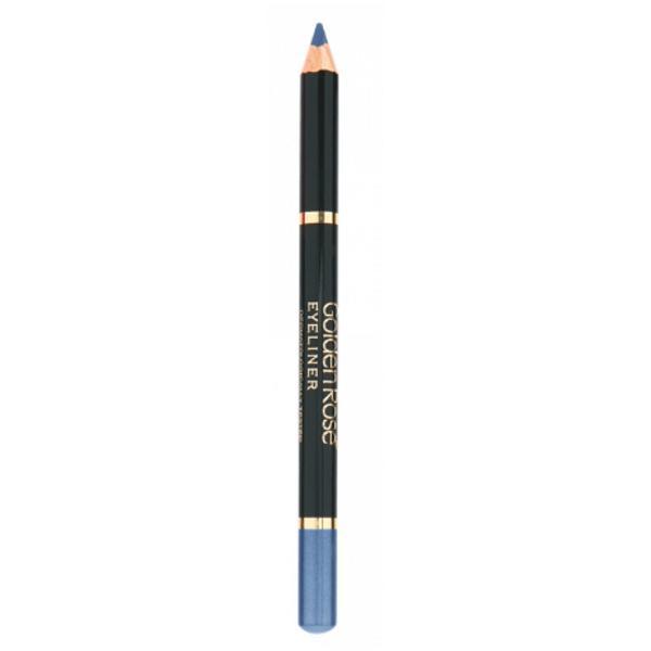 Creion de Ochi Wooden Golden Rose, albastru imagine