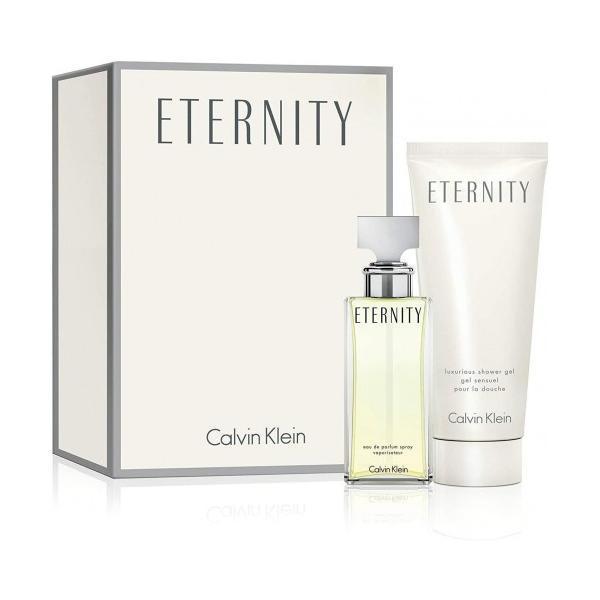Set Cadou Apa de Parfum Calvin Klein Eternity 30ml + Gel dus 100ml imagine produs