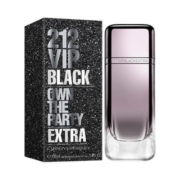 Apă de Parfum pentru barbati Carolina Herrera 212 Vip Black Extra 100ml poza