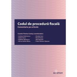 Codul de procedura fiscala. Comentariu pe articole - Cosmin Flavius Costas, editura Solomon