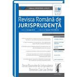 Revista romana de jurisprudenta 1 din 2017 - Gheorghe Buta, Nicoleta Tandareanu, editura Universul Juridic