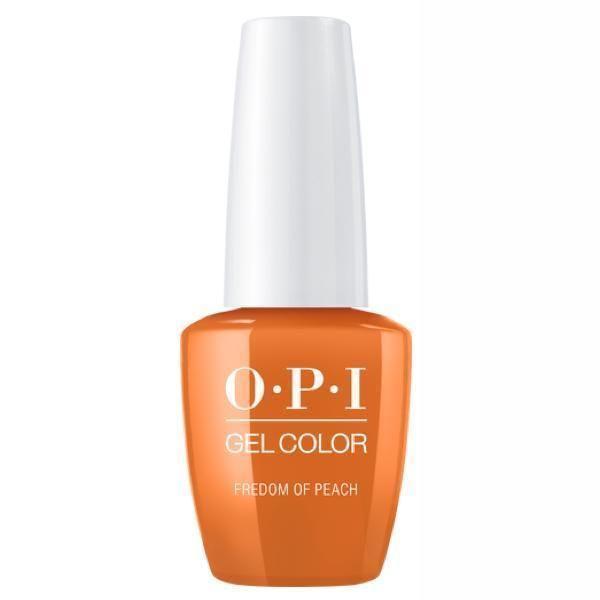 Oja Semipermanenta OPI Gel Color - Freedom Of Peach 15ml