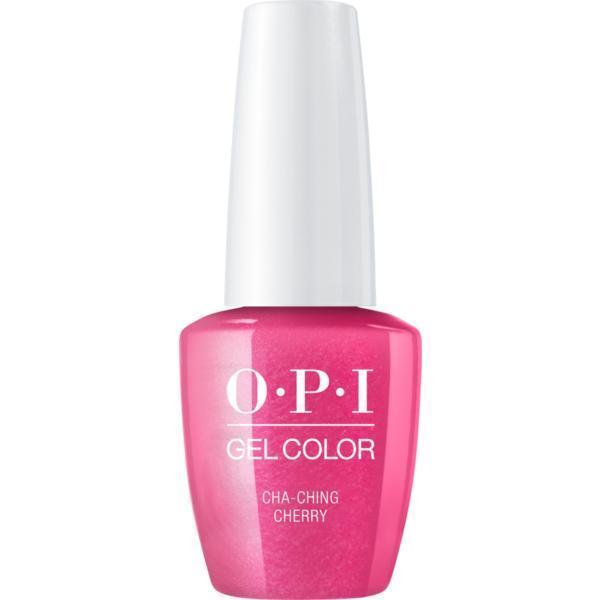 Oja Semipermanenta OPI Gel Color – Cha- Ching Cherry, 15ml