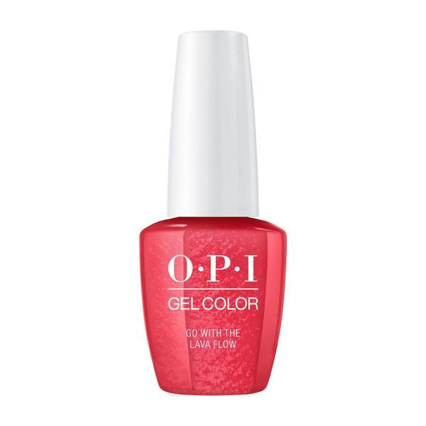 Oja Semipermanenta OPI Gel Color - Go With The Lava Flow, 15ml