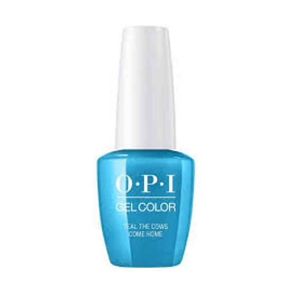 Oja Semipermanenta OPI Gel Color – Teal the Cows Come Home , 15ml