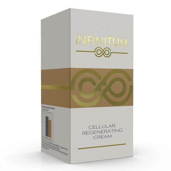Crema, INFINITUM, Regenerare celulara, Vitamina E si A, Acid Hialuronic