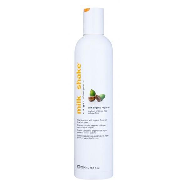 Sampon cu argan pentru toate tipurile de păr Milk Shake Argan Oil 300ml imagine