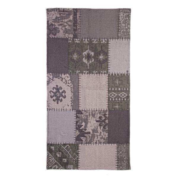 Covoras verde textil pentru baie Baltimora 60×90 cm