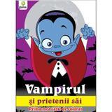 Vampirul si prietenii sai - Prima mea carte de colorat, editura Gama