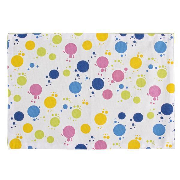 Set 4 suporti bumbac farfurii Bubbles 33×48 cm