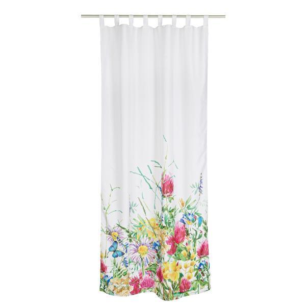 Perdea decorativa textil Flowers 140×280