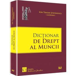 Dictionar De Drept Al Muncii - Ion Traian Stefanescu, editura Universul Juridic