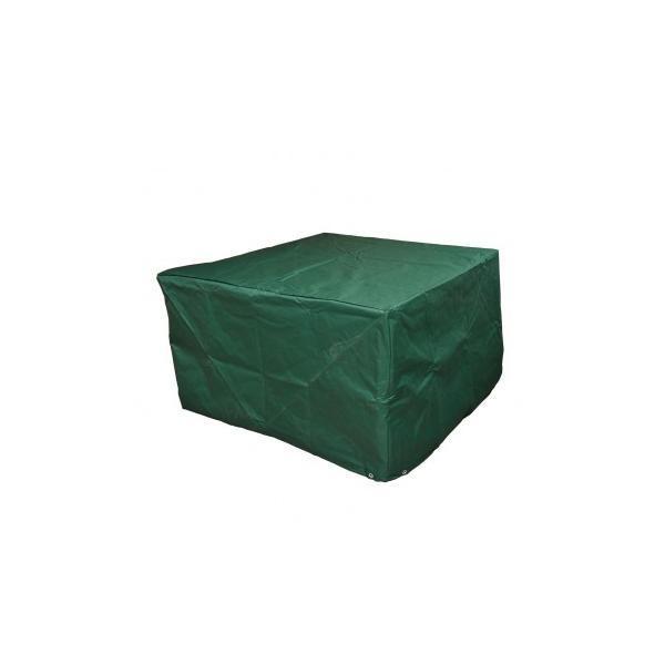 Husa protectie mobilier gradina, Verde, 135 x 135 x 75 cm