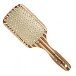 Perie Bambus Lata – Olivia Garden Healthy Hair Ionic Paddle Brush HH – P7 Large de la esteto.ro