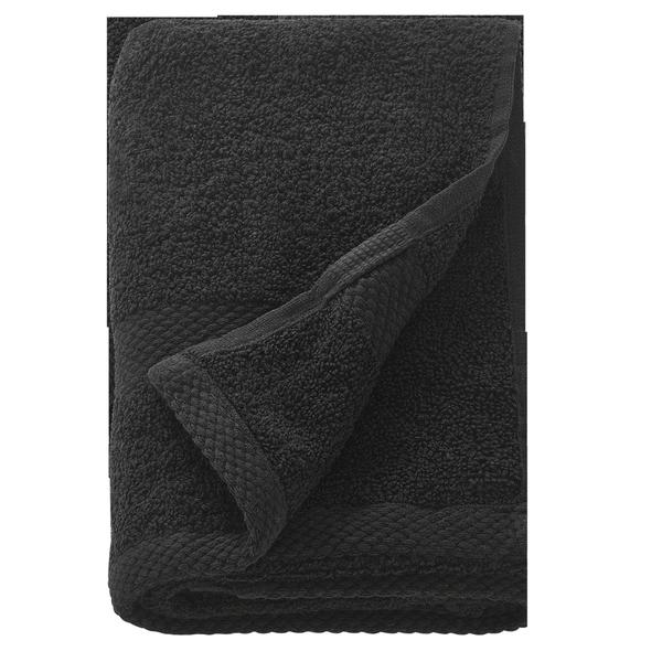 Prosop din Bumbac Negru - Beautyfor Cotton Towel Black, 30 x 50cm, 1 buc imagine produs