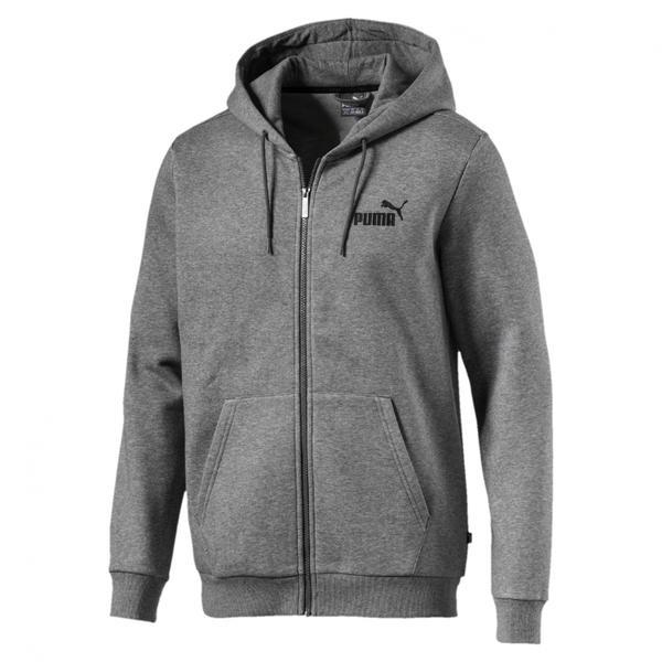 Hanorac barbati Puma Essentials Hoody FL 85176303, XL, Gri