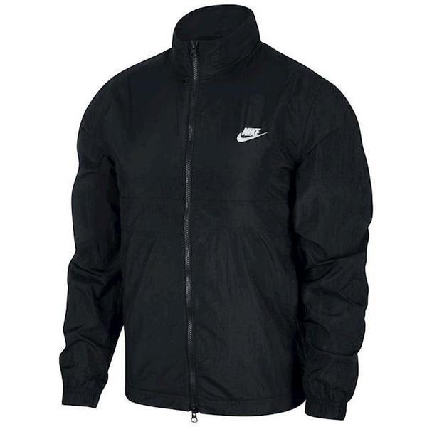 Jacheta barbati Nike Sportswear Woven Track CU4309-010, XL, Negru