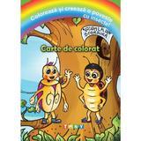 Coloreaza si creeaza o poveste cu insecte! Carte de colorat, editura Ars Libri