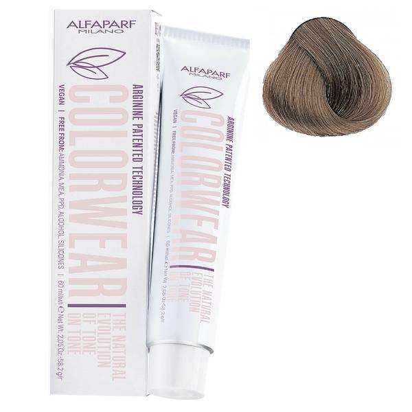 Vopsea Fara Amoniac Ton pe Ton - Alfaparf Milano Color Wear New, nuanta nr 8.12 imagine produs