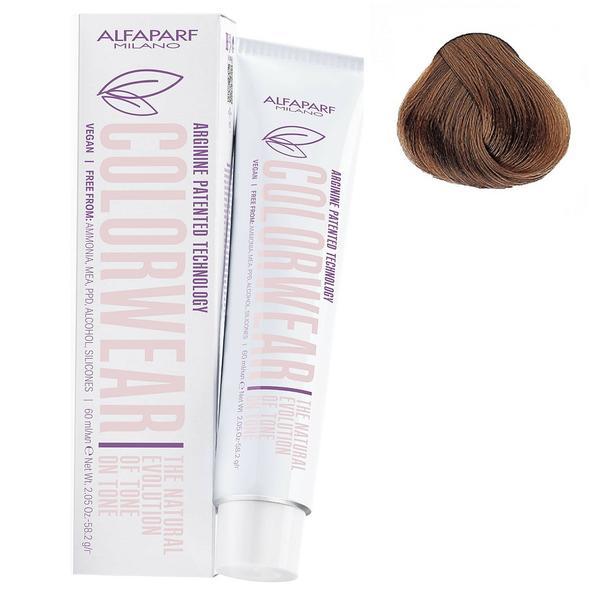 Vopsea Fara Amoniac Ton pe Ton - Alfaparf Milano Color Wear New, nuanta nr 8.03 imagine produs