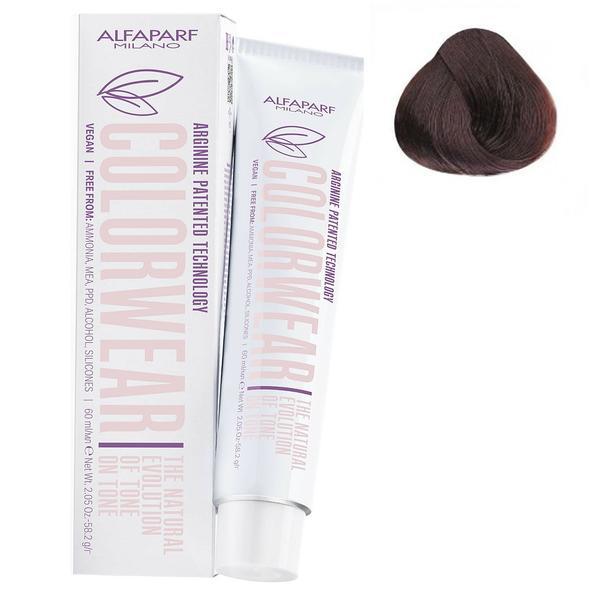 Vopsea Fara Amoniac Ton pe Ton - Alfaparf Milano Color Wear New, nuanta nr 7.35 imagine produs