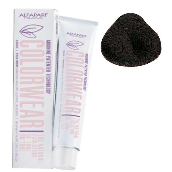 Vopsea Fara Amoniac Ton pe Ton - Alfaparf Milano Color Wear New, nuanta nr 5.32 poza