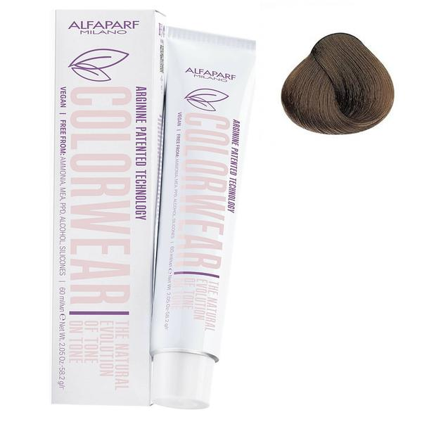 Vopsea Fara Amoniac Ton pe Ton - Alfaparf Milano Color Wear New, nuanta nr 7.1 imagine produs