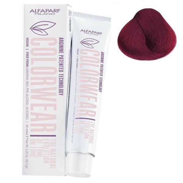 Vopsea Fara Amoniac Ton pe Ton - Alfaparf Milano Color Wear New, nuanta nr 6.66 imagine produs