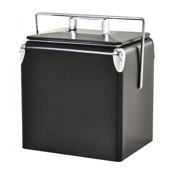 Mini frigider cu functie rece/cald, 30L, Negru – Caerus Capital