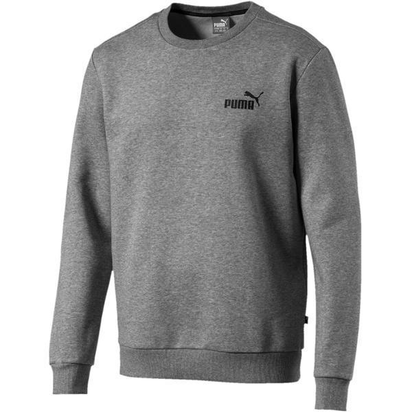 Bluza barbati Puma Essential Logo Crew Neck 85174803, XS, Gri