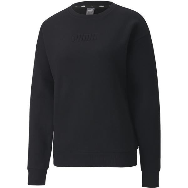 Bluza femei Puma MODERN BASICS CREW FL 58363601, S, Negru