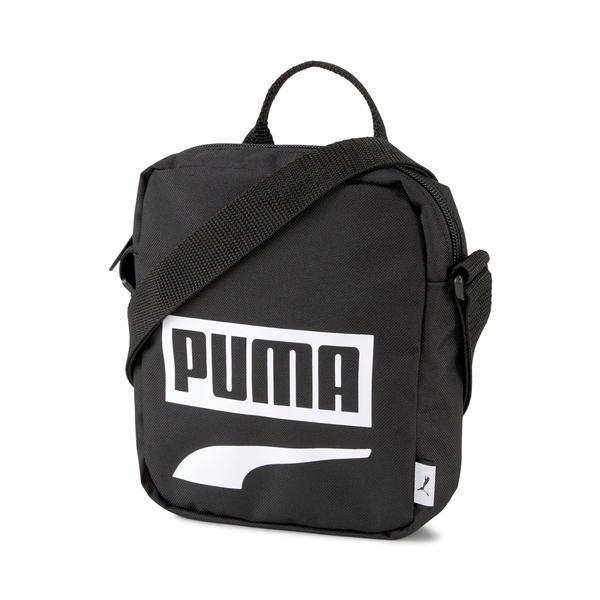 Geanta unisex Puma Plus Portable II 07606114, Marime universala, Negru