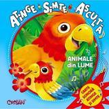 Animale din lume: atinge, simte, asculta, editura Crisan