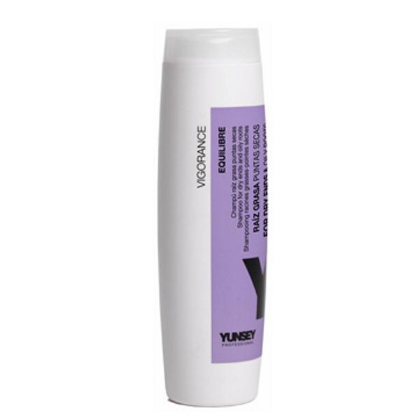 Sampon pentru Varfuri Uscate si Radacini Uleioase - Yunsey Professional Shampoo for Dry Ends and Oily Roots, 250 ml imagine